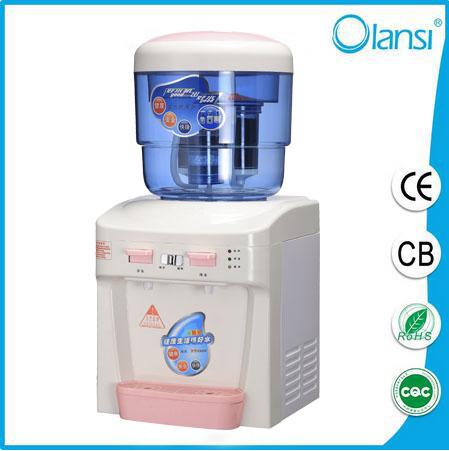 hot and cold desktop water dispenser 938E 1